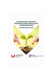 Economic Context of Social and Environmental Justice. Book of Abstracts Cover Image
