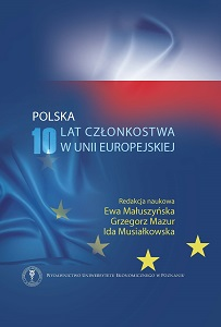 Evolution of state aid rules after the EU enlargement in 2004 Cover Image