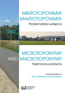 'Microtoponymy' as a key for geographical description A case study in Catalonia, Spain Cover Image