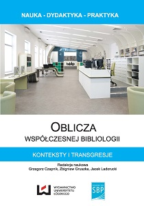 "History in ""bibliology"". The role of historical researches in reconstruction of history of libraries and collections of books Cover Image"