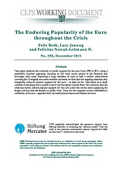 The Enduring Popularity of the Euro throughout the Crisis Cover Image