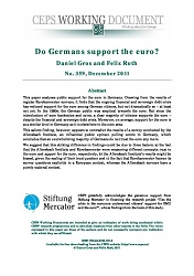 Do Germans support the euro?