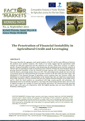 The Penetration of Financial Instability in Agricultural Credit and Leveraging Cover Image