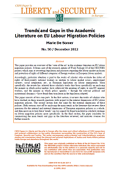 Trends and Gaps in the Academic Literature on EU Labour Migration Policies