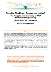 #51 Does the Stockholm Programme matter? The Struggles over Ownership of AFSJ Multiannual Programming Cover Image
