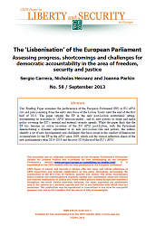 #58 The 'Lisbonisation' of the European Parliament. Assessing progress, shortcomings and challenges for democratic accountability in the area of freedom, security and justice
