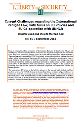 #59 Current Challenges regarding the International Refugee Law, with focus on EU Policies and EU Co-operation with UNHCR
