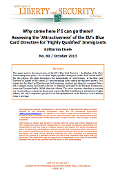 #60 Why come here if I can go there? Assessing the 'Attractiveness' of the EU's Blue Card Directive for 'Highly Qualified' Immigrants