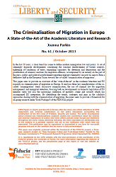 #61 The Criminalisation of Migration in Europe. A State-of-the-Art of the Academic Literature and Research