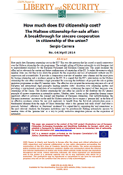 #64 How much does EU citizenship cost? The Maltese citizenship-for-sale affair: A breakthrough for sincere cooperation in citizenship of the union?