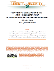 #67 The US Labour Immigration Scheme – All about being attractive? EU Perceptions and Stakeholders' Perspectives Reviewed