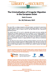 #80 The Criminalisation of Irregular Migration in the European Union Cover Image