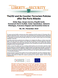 #84 The EU and its Counter-Terrorism Policies after the Paris Attacks