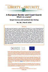 #88 A European Border and Coast Guard: What's in a name?