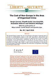 #90 The Cost of Non-Europe in the Area of Organised Crime Cover Image