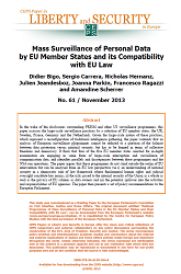 #61 Mass Surveillance of Personal Data by EU Member States and its Compatibility with EU Law