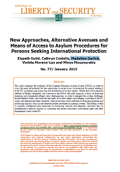 #77 New Approaches, Alternative Avenues and Means of Access to Asylum Procedures for Persons Seeking International Protection