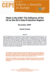 Made in the USA? The Influence of the US on the EU's Data Protection Regime