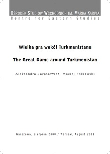 The Great Game around Turkmenistan Cover Image
