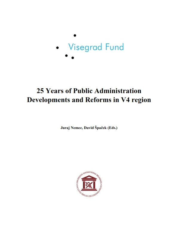 25 Years of Public Administration Developments and Reforms in V4 region