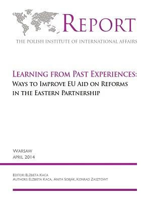 Learning from Past Experiences: Ways to Improve EU Aid on Reforms in the Eastern Partnership