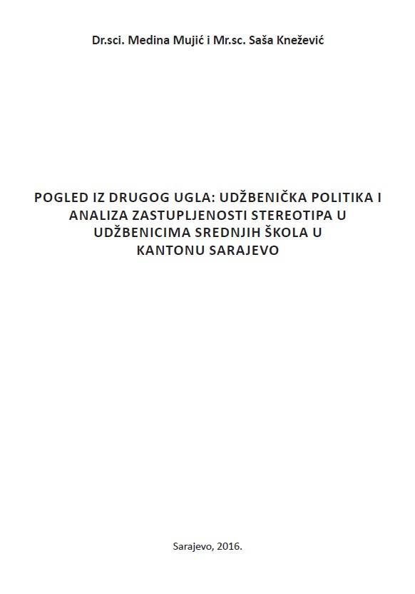 A look from the other angle: School literature policy and analysis of stereotype representation in high school literature in Canton Sarajevo Cover Image