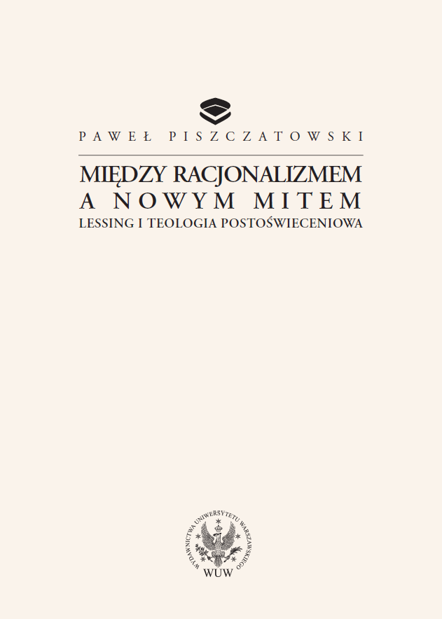 Between rationalism and a new myth: Lessing and post-Enlightenment theology Cover Image