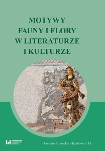 The Motifs of Fauna and Flora in Literature and Culture. Literary and Language Analects, vol. 9 Cover Image