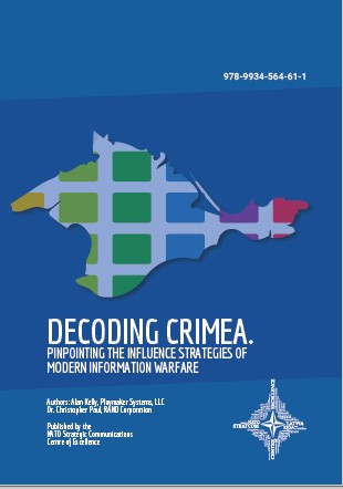 DECODING CRIMEA. PINPOINTING THE INFLUENCE STRATEGIES OF MODERN INFORMATION WARFARE Cover Image