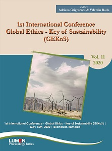 1st International Conference Global Ethics  Key of Sustainability (GEKoS)