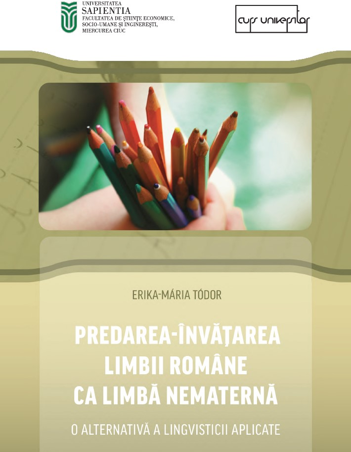 The teaching and learning of Romanian as non-native language Cover Image
