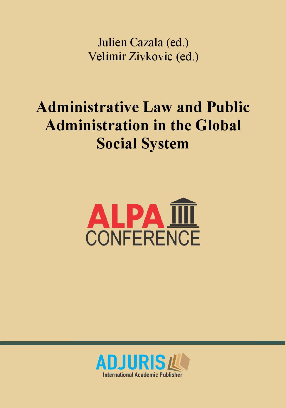 Administrative Law and Public Administration in the Global Social System
