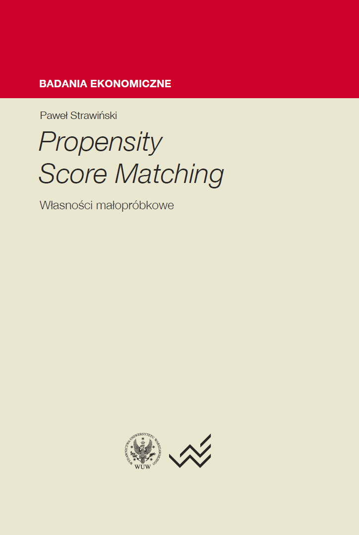Propensity Score Matching. Small-sample properties Cover Image