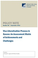 Visa Liberalization Process in Kosovo