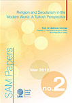 Religion and Secularism in the Modern World: A Turkish Perspective Cover Image