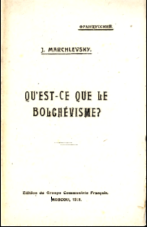 What is the Bolshevism? Cover Image
