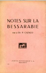 Notes sur la Bessarabie