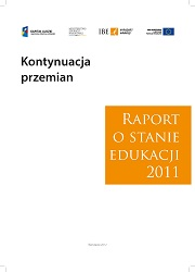 Continuation of Change - Report on the State of Education 2011 - information booklet Cover Image