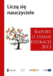 Report on the State of Education 2013. Teachers matter Cover Image