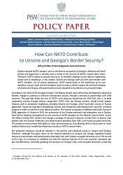№153: How Can NATO Contribute to Ukraine and Georgia's Border Security? Cover Image