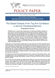 №149: The Global Outlook of the Top Five Candidates in the U.S. Presidential Election