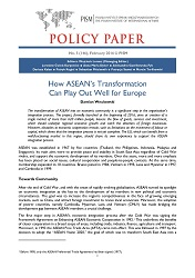 №146: How ASEAN's Transformation Can Play Out Well for Europe