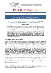 №145: Transnistria Zig-zagging towards a DCFTA Cover Image