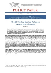 №144: The EU-Turkey Deal on Refugees: How to Move Forward