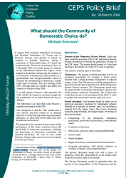 №098. What should the Community of Democratic Choice do?