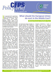 №112. What should the European Union do next in the Middle East? Cover Image