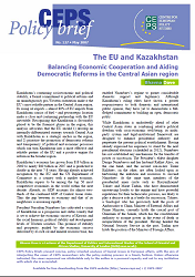 №127. The EU and Kazakhstan. Balancing Economic Cooperation and Aiding Democratic Reforms in the Central Asian region