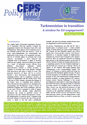 №129. Turkmenistan in transition. A window for EU engagement?