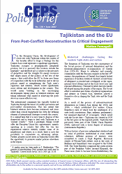 №130. Tajikistan and the EU. From Post-Conflict Reconstruction to Critical Engagement
