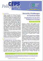 №139. Security Challenges in Central Asia. Implications for the EU's Engagement Strategy